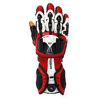 Мотоперчатки Knox Handroid красные, M, фото 1