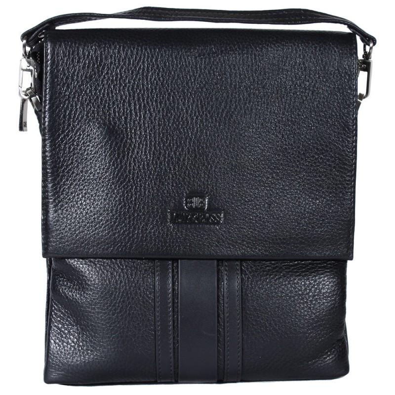 fe72278afb87 Универсальная мужская кожаная сумка-барсетка через плечо со съемной ручкой черная  Lare Boss LB0049552-31, цена 2 117 грн., купить в Киеве — Prom.ua ...