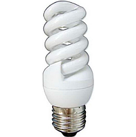 Компактная люминесцентная лампа T2 Mini Full-spiral 11Вт 6400К Е14