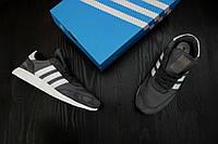 Мужские Кроссовки Adidas Iniki Runner Grey (реплика), фото 1