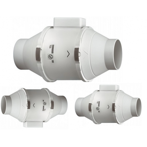 Круглый канальный вентилятор Soler&Palau TD-800/200 MIXVENT