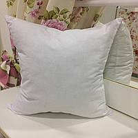 Подушка базовая 55х55 без наволочки: основа для декоративной подушки