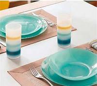 Сервиз столовый Luminarc Arty Soft Blue L3650 18 предметов