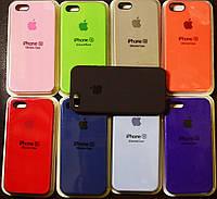 Оригинальный Apple silicone case для Iphone 5, 5S, SE