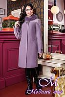 Женское кашемировое зимнее пальто (р. 44-52) арт. 851 Тон 46