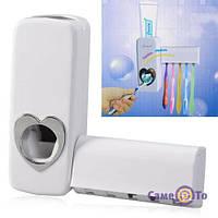 Автоматичний дозатор зубної пасти і підставка для щіток, 1000618, дозатор для зубної пасти, автоматичний дозатор зубної пасти, підставка для зубних