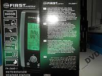 МЕТЕОСТАНЦИЯ ЧАСЫ First FA-2460-1 Безпроводный д-к