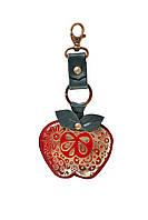 Брелок для ключей сувенирный (натуральная кожа) с художественной росписью
