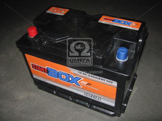 Аккумулятор   75Ah-12v StartBOX Special (276x175x190),L,EN640 (арт. 5237931139), AGHZX