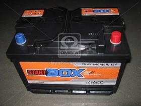 Аккумулятор   75Ah-12v StartBOX Special (276x175x190),R,EN640 (арт. 5237931140), rqm1