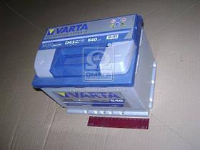 Аккумулятор   60Ah-12v VARTA BD(D43) (242х175х190),L,EN540 (арт. 560127054), AGHZX