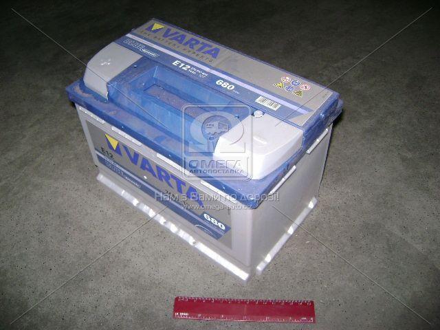 Аккумулятор   74Ah-12v VARTA BD(E12) (278x175x190),L,EN680 (арт. 574013068), AGHZX