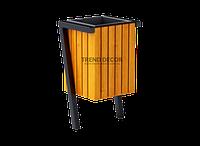 Вулична урна для сміття металева 008