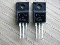 Транзисторы FQPF8N80, 8N80