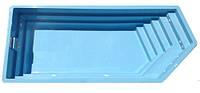 """Стеклопластиковый (стекловолоконный) бассейн """"ОЛИМПИК"""" 8,4 х 3,6 х 1,55м"""