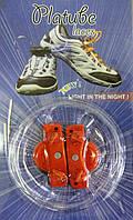 ЛУЧШАЯ ЦЕНА! Светящиеся силиконовые шнурки LED Platube Laces 1001006 в украине светящиеся шнурки