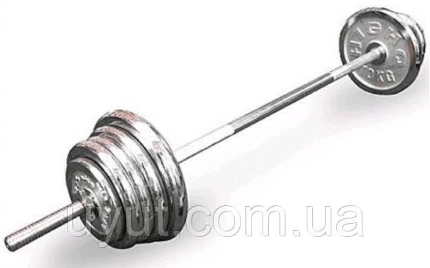 Штанга хром (100 кг)