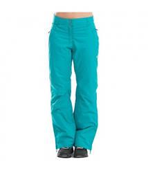 Горнолыжные штаны жен. ALPINE PRO Terenzio бирюзовые