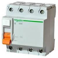 Дифференциальный выключатель нагрузки ВД63 4П 40A 100мA Schneider Electric (11464)