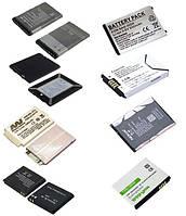 Аккумуляторы Nokia, Samsung, Sony Ericsson