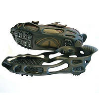 Ледоступы для обуви BlackSpur S, M, L на 24 шипа, накладки на подошву