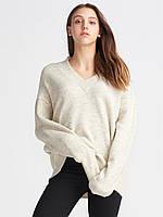 Пуловер Oversize в бежевом цвете