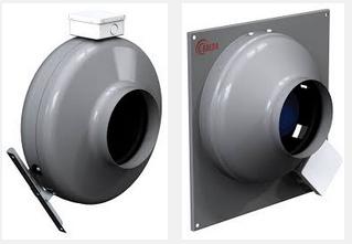 Круглые канальные вентиляторы SALDA