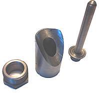 Бобышка, гильза закладная термоизолирующая под термометр, датчик температуры  (косая, прямая)