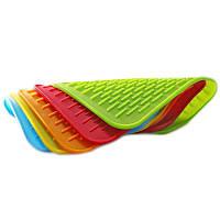 Силиконовый коврик для сушки посуды 22х16 см