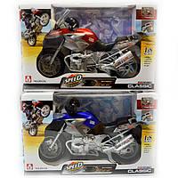 Мотоцикл інерційний з ефектами