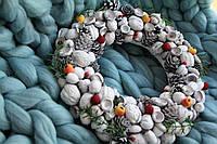 """Рождественский венок """"Ягоды на снегу """", фото 1"""