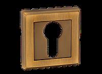 Накладка дверная под цилиндр MVM E8 MACC (матовая бронза)