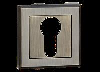 Накладка дверная под цилиндр MVM E8 AB (старая бронза)