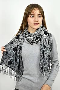 Шарф Милана темно-серый