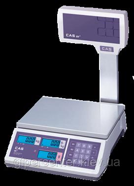 Весы торговые CAS ER JR CBU до 15 кг, фото 2