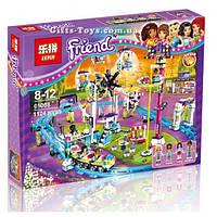 """Конструктор Friends Lepin 01008 """"Парк развлечений: американские горки"""" 1124 деталей."""