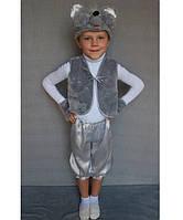 Детский карнавальный костюм для мальчика Мышонок