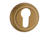 Накладка дверная под цилиндр MVM E5 MACC (матовая бронза)