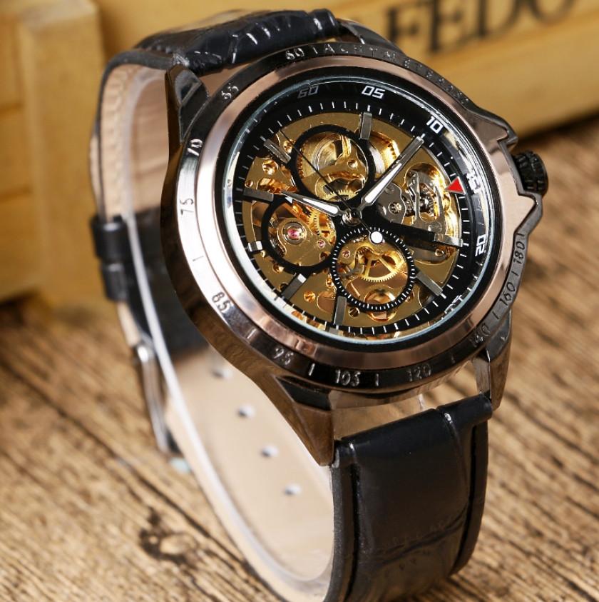 Часы мужские механические Winner Skeleton в Краснодаре