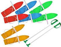 Качественные детские лыжи с палками, Marmat 40 см! Польша!