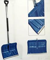 Лопата для уборки снега с алюминиевой рукояткой пластиковая Maan 44cm ширина ковша