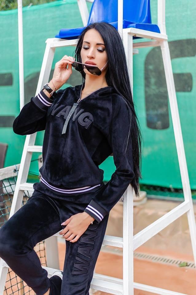 fb462685 Женский плюшевый спортивный костюм