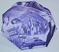 "Молодежный зонт полуавтомат "" Мэрилин Монро"" на 8 карбоновых спиц от фирмы ""Feeling Rain"""