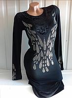 Нарядное платье с камнями на Новый год в Одессе
