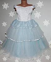 Нарядное  платье для девочек 5-7 года , корсет, молния