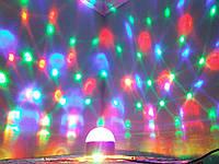 Светильник для дискотек и клубов шар светомузыкальный для создания световых эффектов Новогодняя