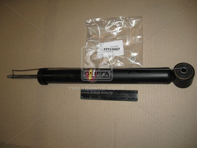 Амортизатор подвески SKODA FABIA задний  газовый REFLEX (производство Monroe) (арт. E1274), AEHZX