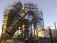Изоляция паропроводов и труб с температурой более +120ºС