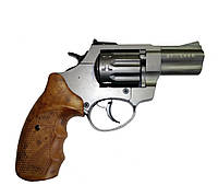 """Револьвер под патрон флобера STALKER 2,5"""" никель"""