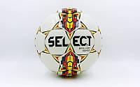 Мяч футбольный №5 DX ST BRILLANT SUPER  белый-фиолетовый-красный (№5, 5 сл..)